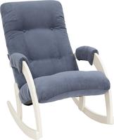 Кресло-качалка Модель 67 Дуб шампань, ткань Verona Denim Blue