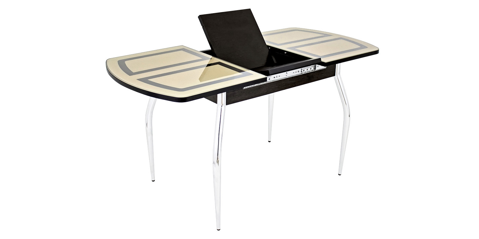 Обеденный стол Виктория (венге/ваниль)