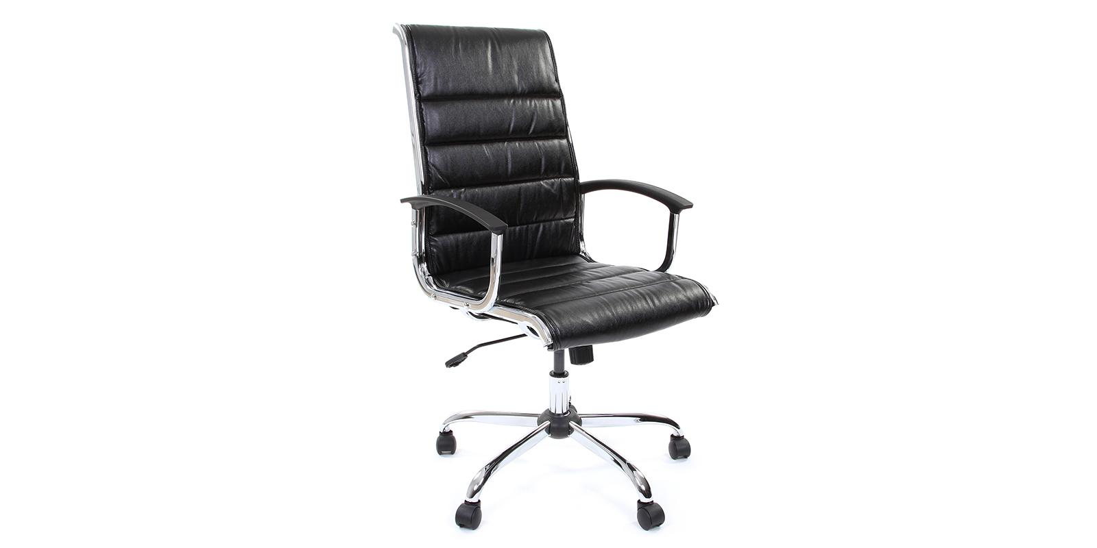 Кресло для руководителя Chairman 760 вариант №1 (черный)