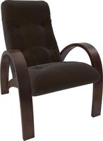 Кресло для отдыха Модель S7 Орех/шпон, ткань Verona Wenge