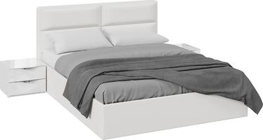 Спальный гарнитур «Глосс» стандартный без шкафа