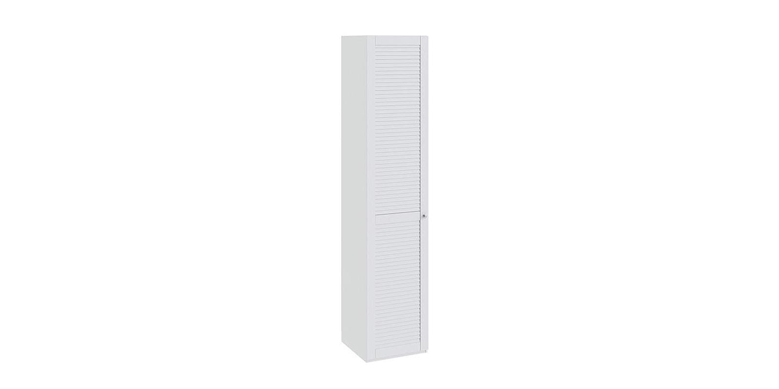 Шкаф распашной однодверный Мерида вариант №7 левый (белый)