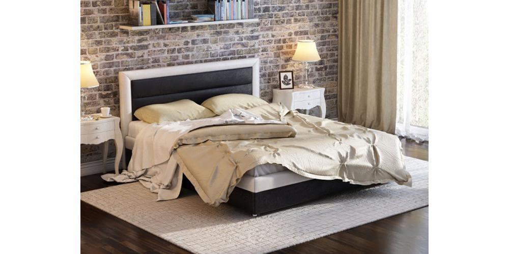 Кровать мягкая HomeMe Тарбикс
