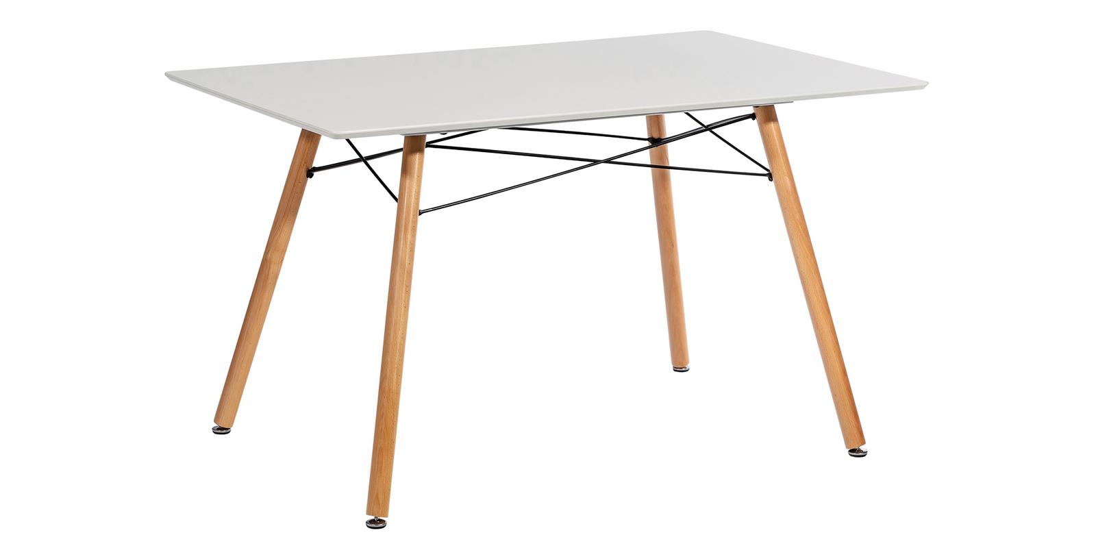 Обеденный стол Канди (кремовый)