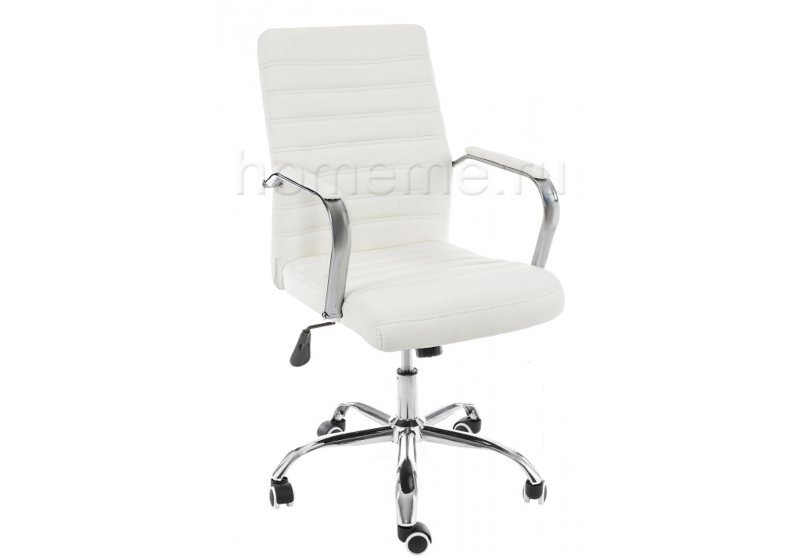 Кресло для офиса HomeMe Компьютерное кресло Tongo белое 11066 от Homeme.ru