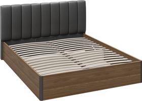 Кровать «Харрис» с мягким изголовьем и подъемным механизмом