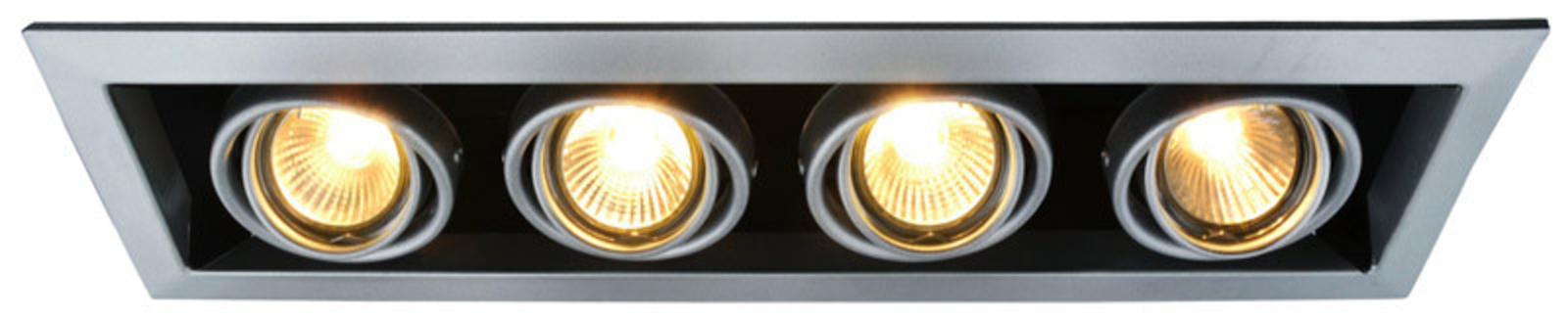 Купить Встраиваемый светильник Cardani A5941PL-4SI, HomeMe