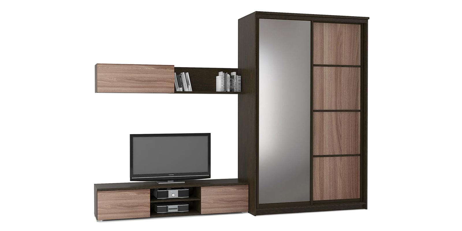 Модульная система Верона вариант №5 (венге/ясень шимо) от HomeMe.ru