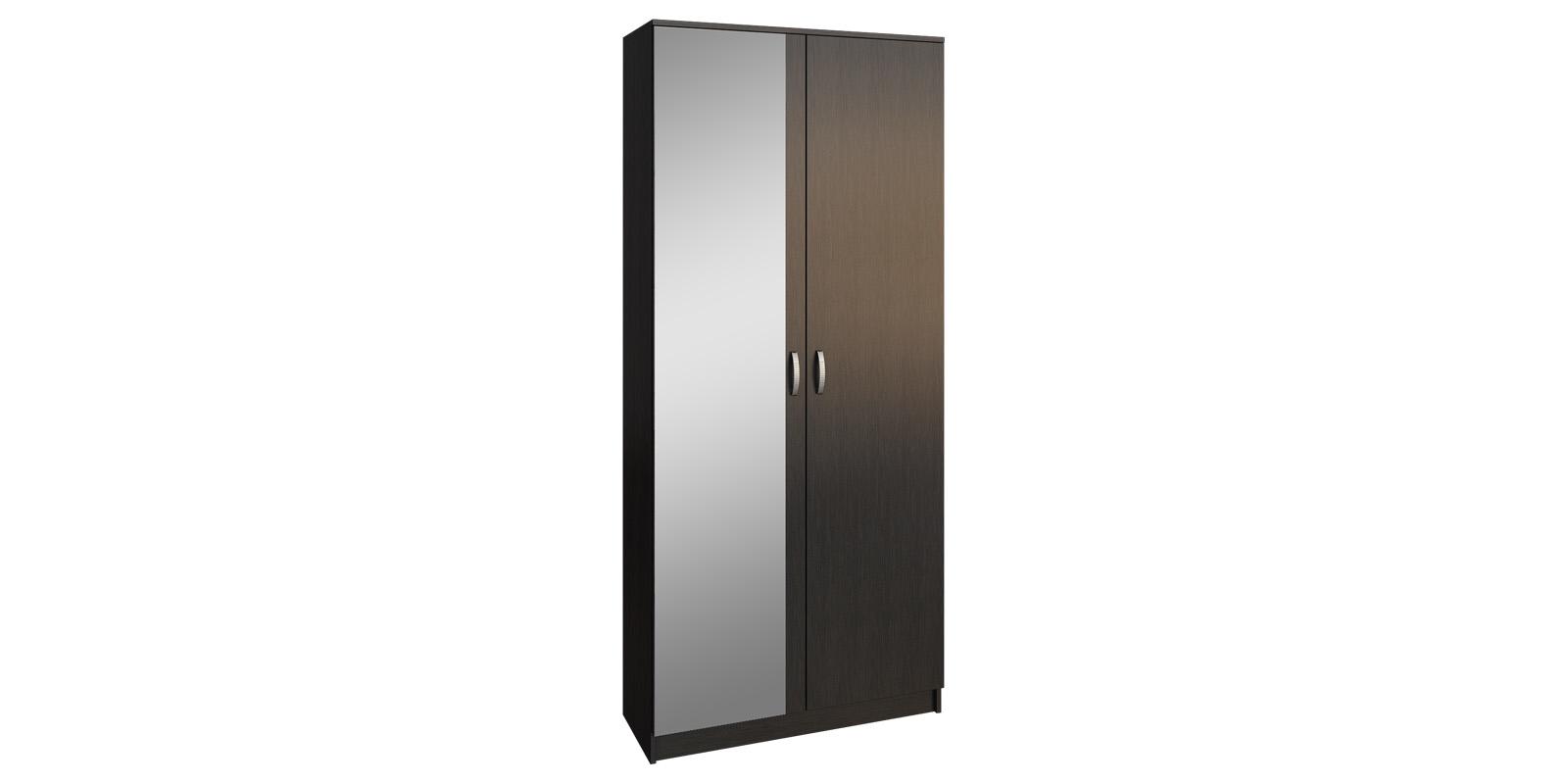 Шкаф распашной двухдверный Хельга вариант №2 (венге)