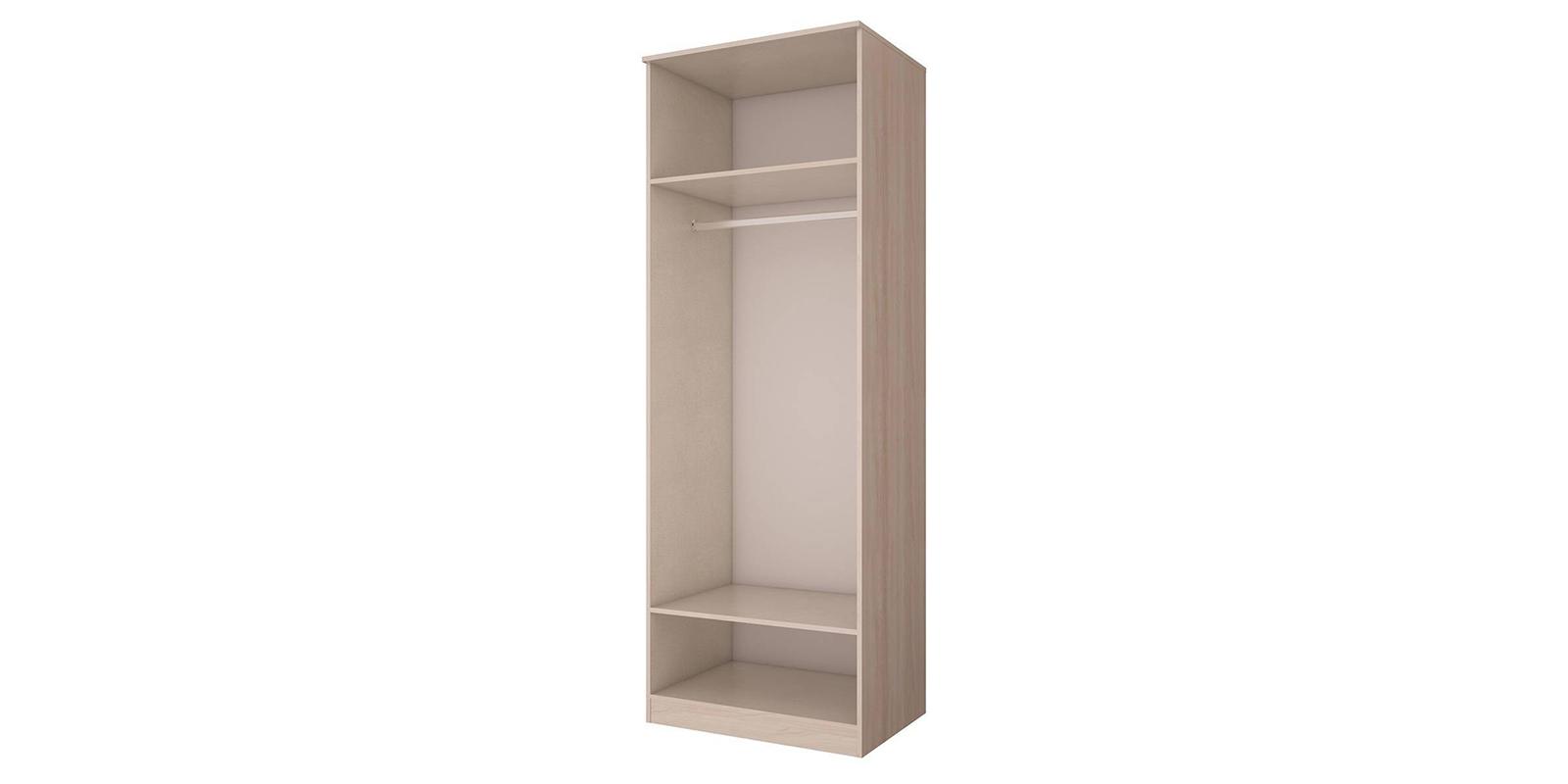 Шкаф распашной двухдверный Триполи вариант №1 (ясень светлый)