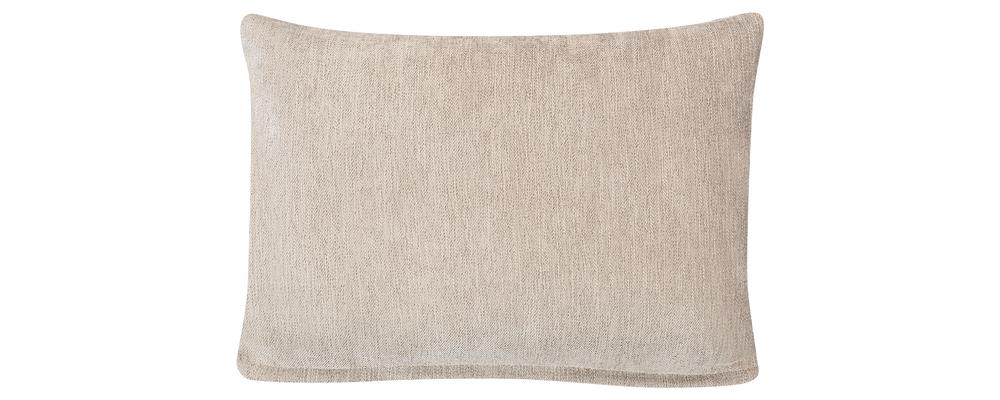 Декоративная подушка Медисон 60х45 см Anabell бежевый (Шенилл)
