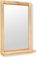 Зеркало с полкой Leset Фиора Прозрачный лак