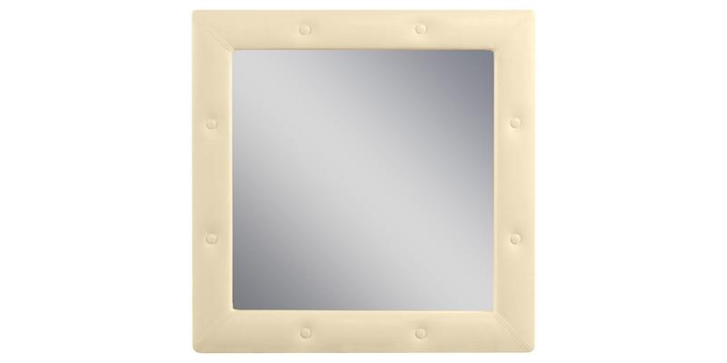 Зеркало настенное Малибу вариант №1 (Бежевый)