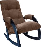 Кресло-качалка Модель 67 Венге, ткань Verona Brown