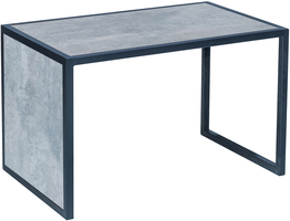 Стол универсальный Leset Бриг  металл Черный, Цемент