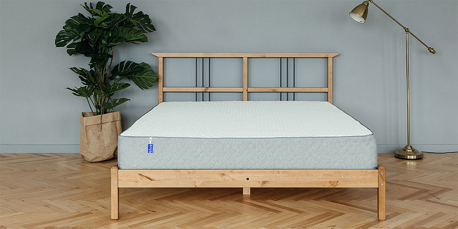 Матрас HomeMe Blue Sleep Hybrid от Homeme.ru