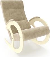 Кресло-качалка Модель 3 Дуб шампань, ткань Verona Vanilla