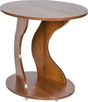 """Подкатной столик Leset """"Сатурн"""" Орех"""