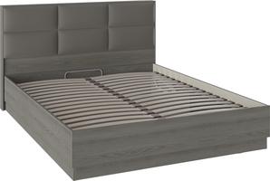 Кровать «Либерти» с мягким изголовьем и подъемным механизмом