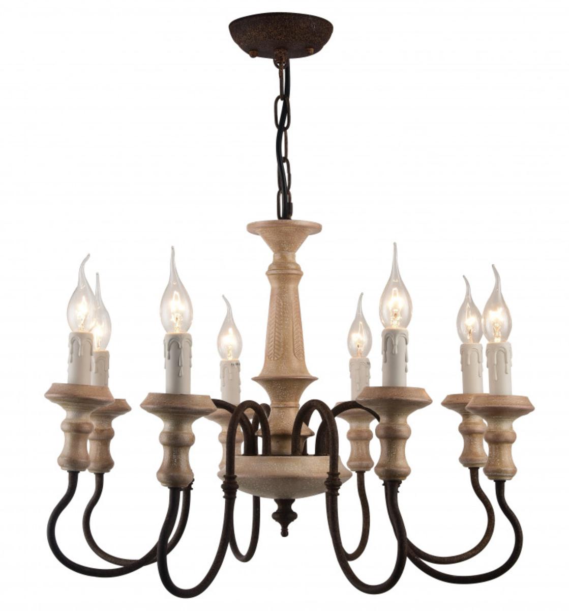 Купить Подвесная люстра Woodstock Подвесная люстра ARTE Lamp A1700LM-8BR (13776), HomeMe