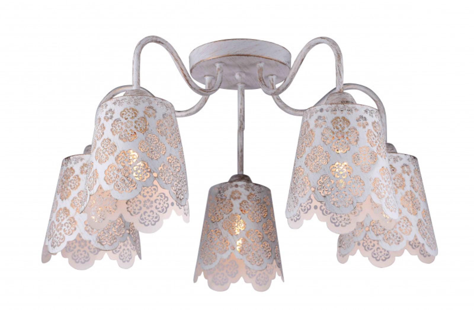 Купить Накладная люстра JULIA Накладная люстра ARTE Lamp A2032PL-5WG (13761), HomeMe