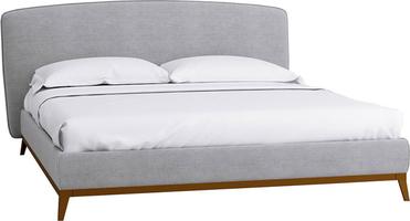 Кровать с ортопедическим основанием 1.6 Сканди Лайт