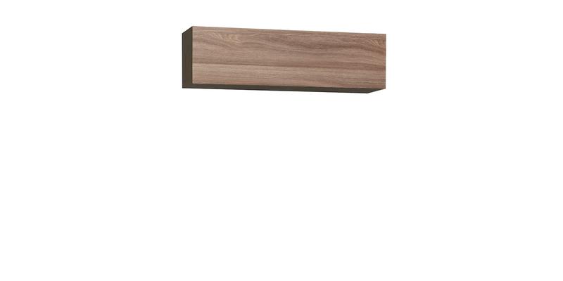 Шкаф навесной Верона 120 см (венге\ясень шимо)
