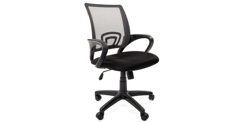 Кресло для оператора Chairman 696 (черный/серый)