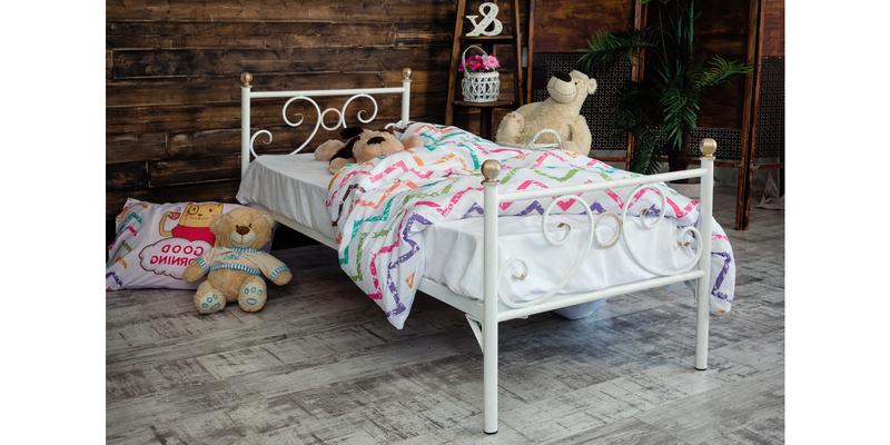 Металлическая кровать 70х170 Кэтти