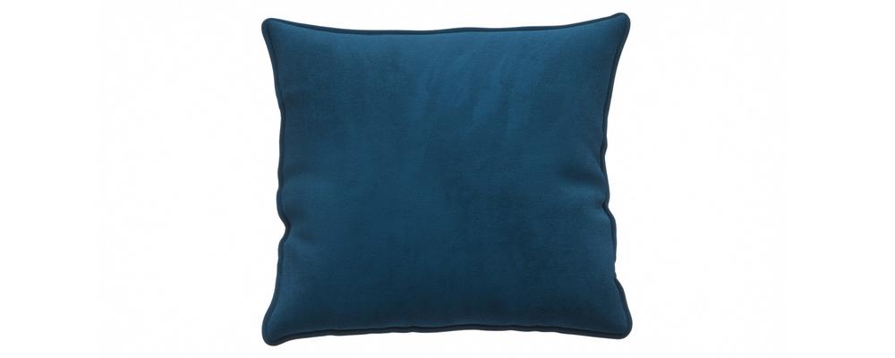 Декоративная подушка Портленд 41х41 см Premier светло-синий (Микровелюр)