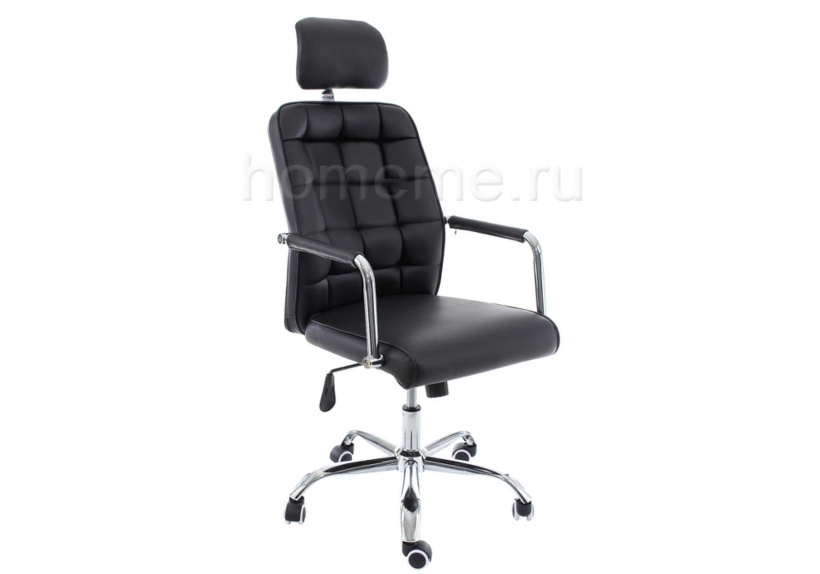 Кресло для офиса HomeMe Компьютерное кресло Atlas черное 11050 от Homeme.ru
