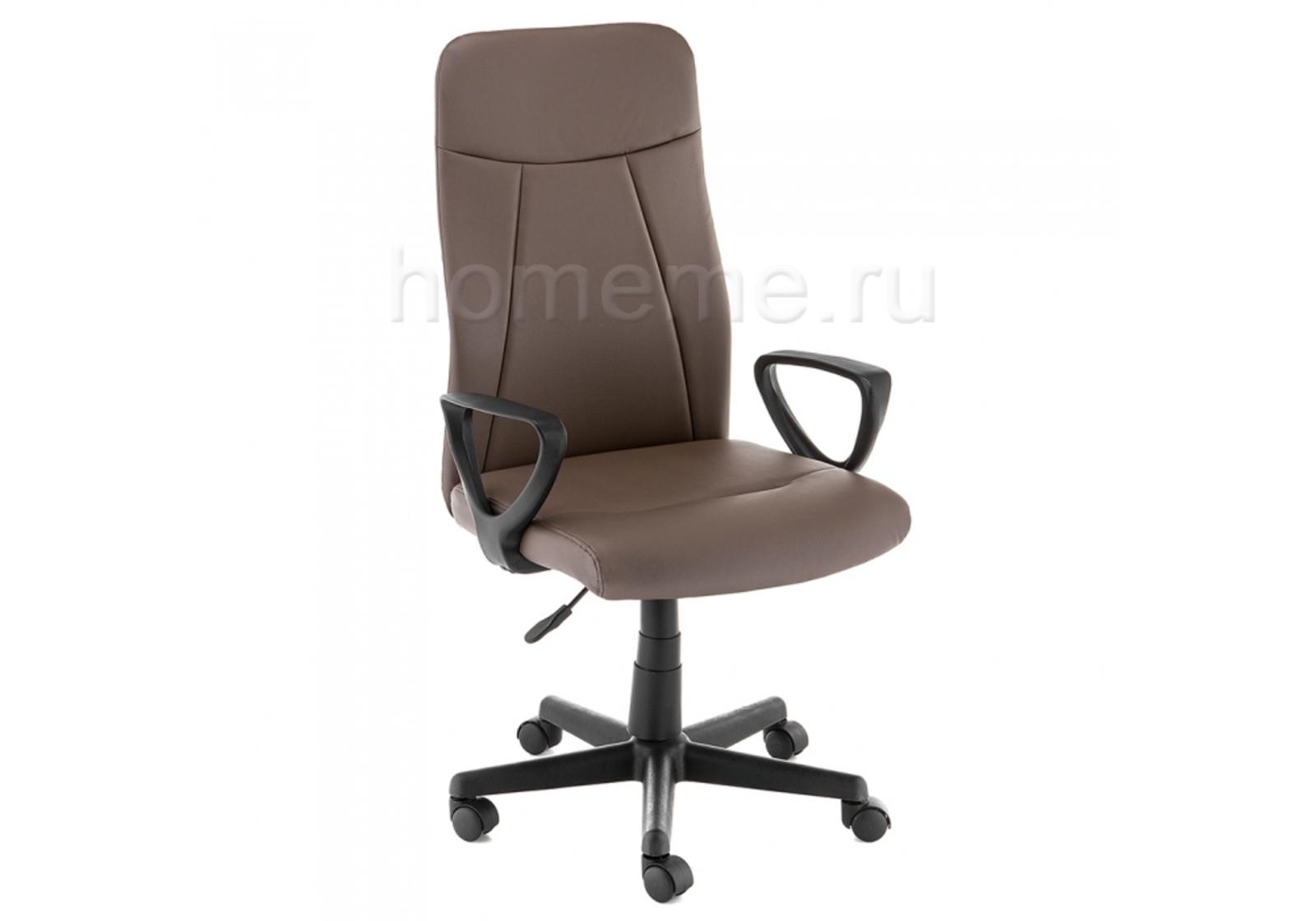Кресло для офиса HomeMe Favor коричневое 11271 от Homeme.ru