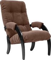 Кресло для отдыха Модель 61 Венге, ткань Verona Brown