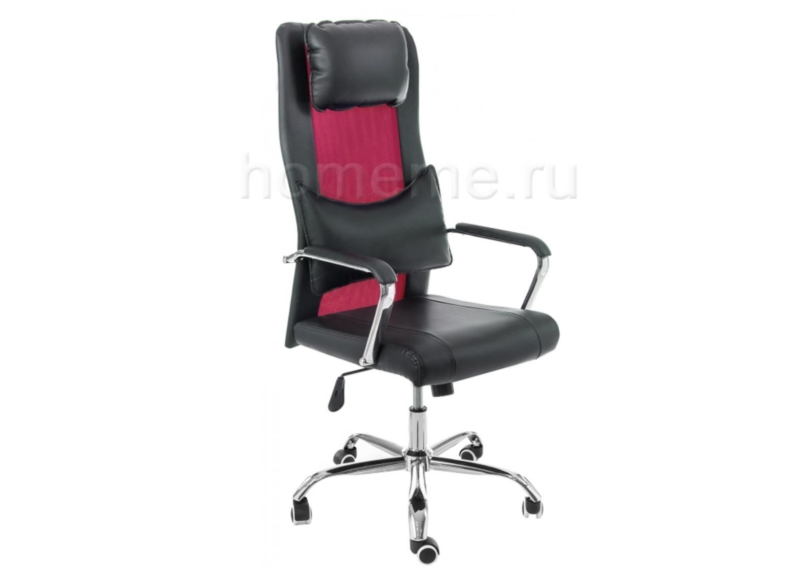 Кресло для офиса HomeMe Компьютерное кресло Unic black / purple 11054 от Homeme.ru