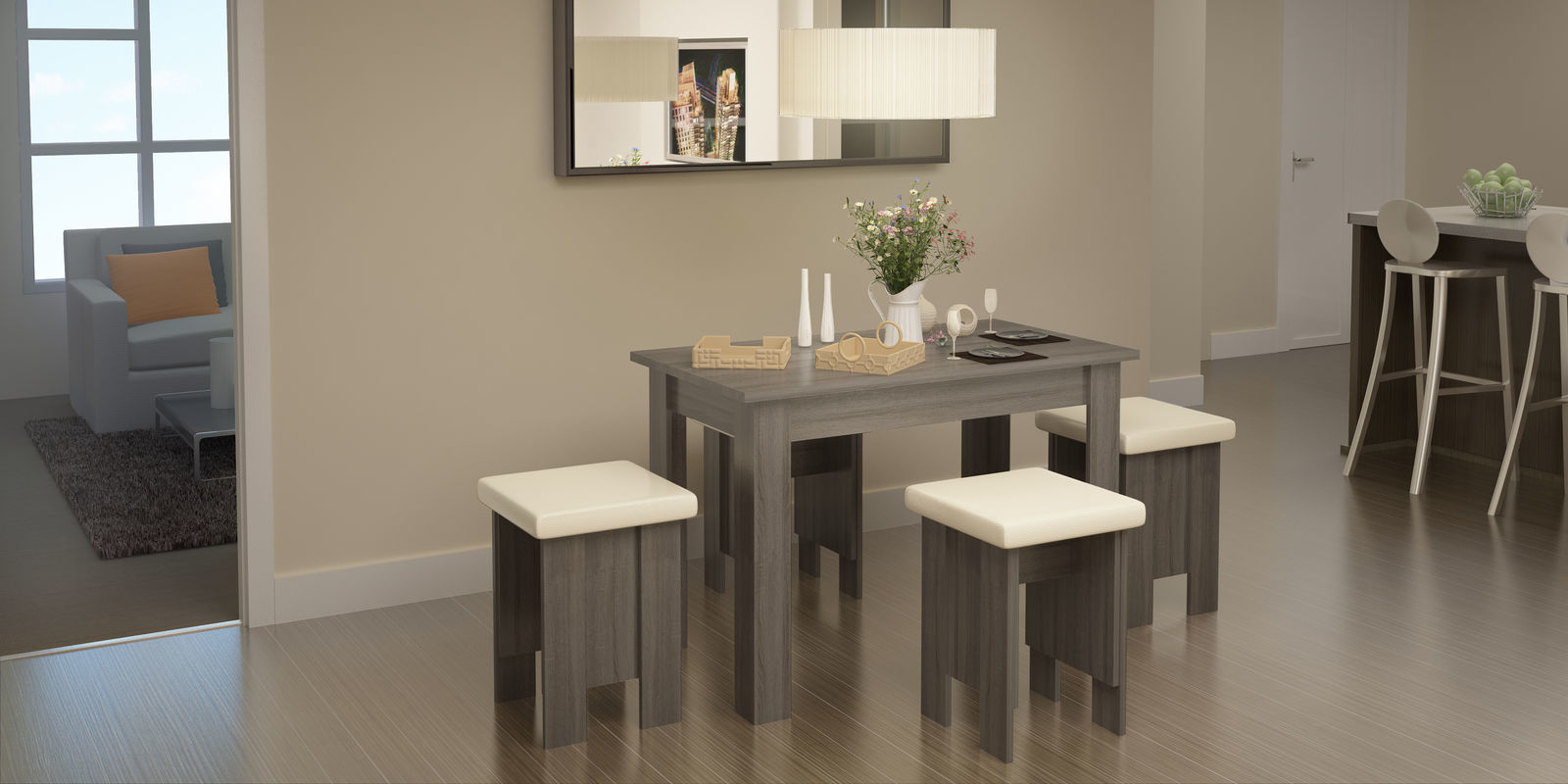 Стол обеденный HomeMe Норд AEF0154000