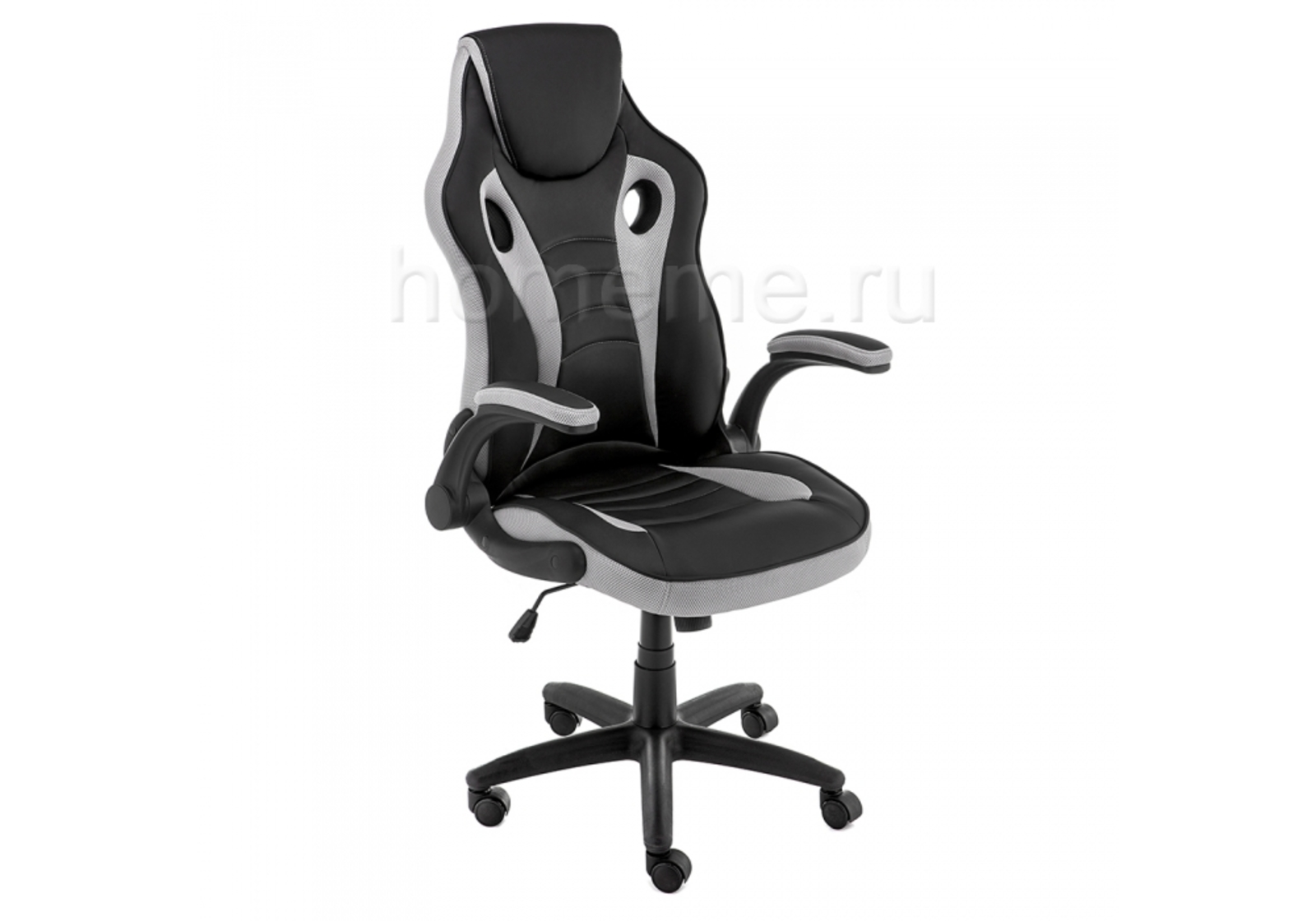 Кресло для офиса HomeMe Cobr черное / серое 11323 от Homeme.ru