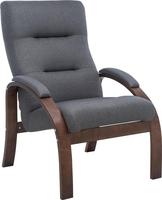 Кресло Leset Лион Орех текстура, ткань Малмо 95