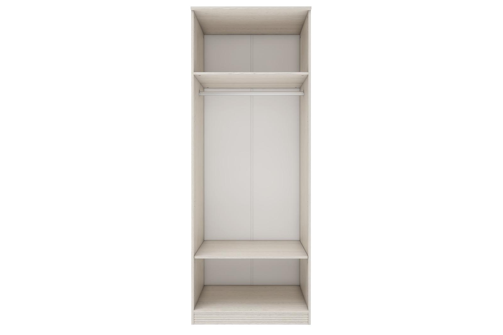Шкаф распашной двухдверный Крит (дуб белый)