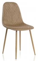 Capri dark beige / wood 11841