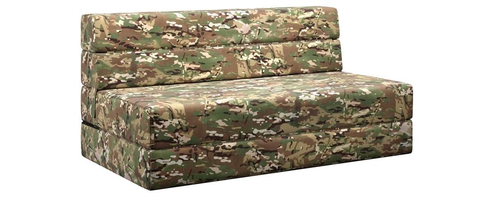Диван тканевый прямой Форест Military камуфляж (Смесовая ткань с пропиткой)