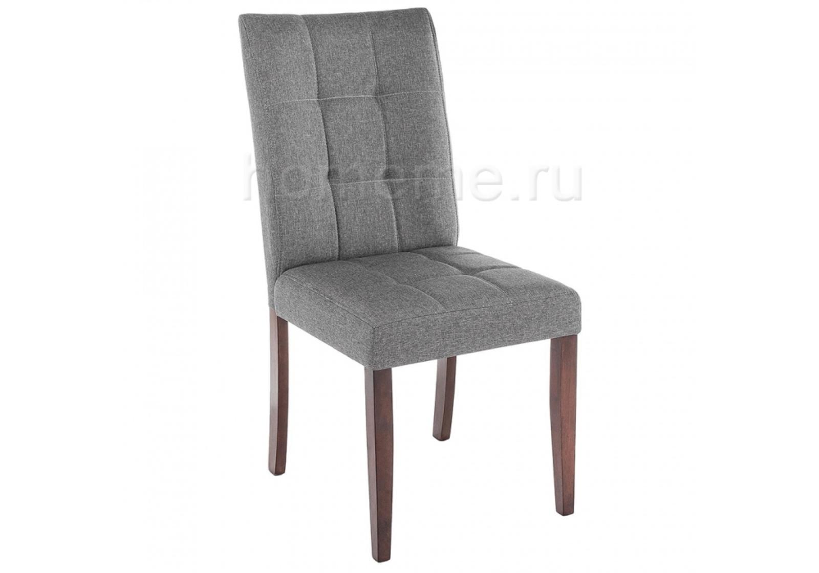 Стул HomeMe Madina dark walnut / fabric grey 11028 от Homeme.ru