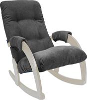 Кресло-качалка Модель 67 Дуб шампань, ткань Verona Antrazite Grey