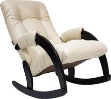 Кресло-качалка Модель 67 Венге, к/з Polaris Beige