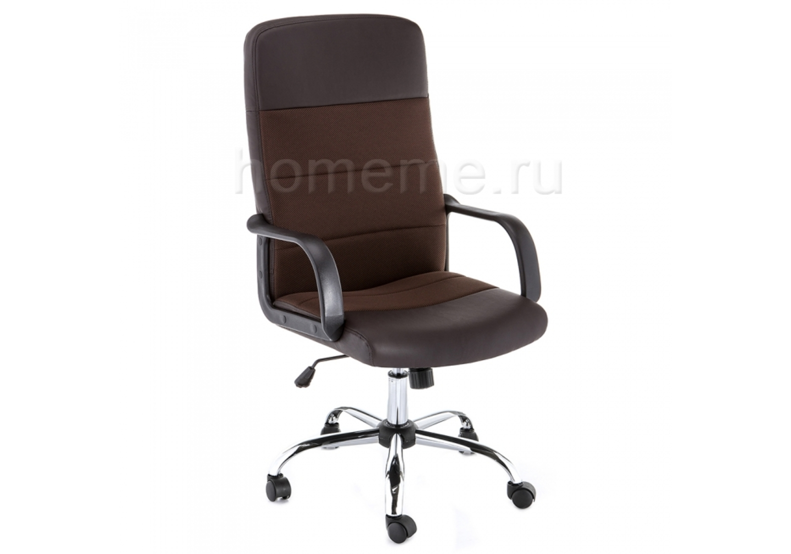 Кресло для офиса HomeMe Prosto коричневое 11281 от Homeme.ru