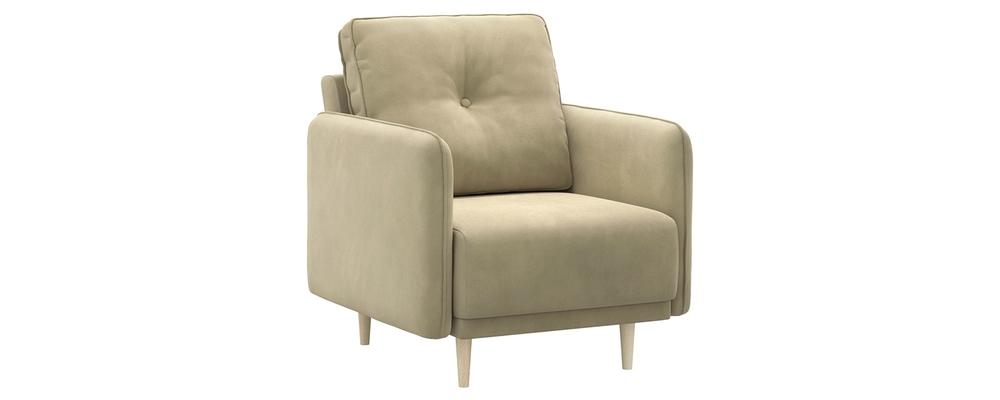 Кресло тканевое Голливуд Velutto капучино (Велюр)