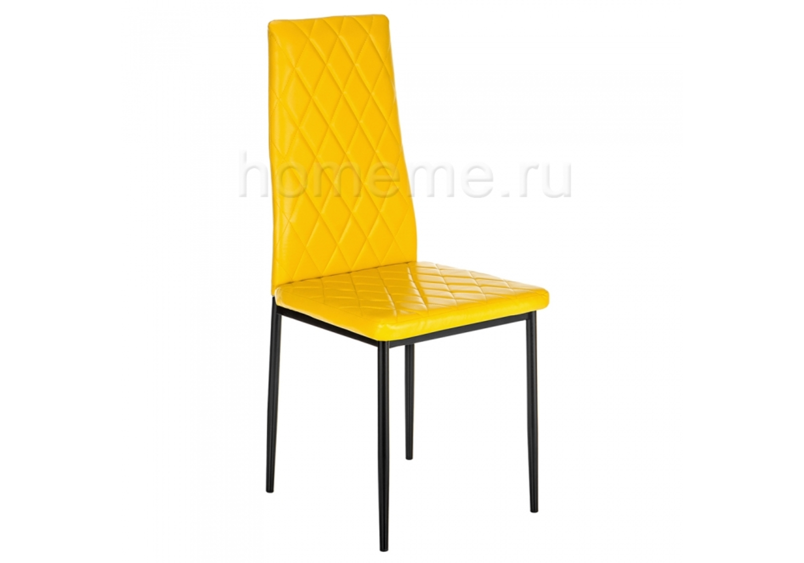 Стул HomeMe Jams черный / желтый 11091 от Homeme.ru